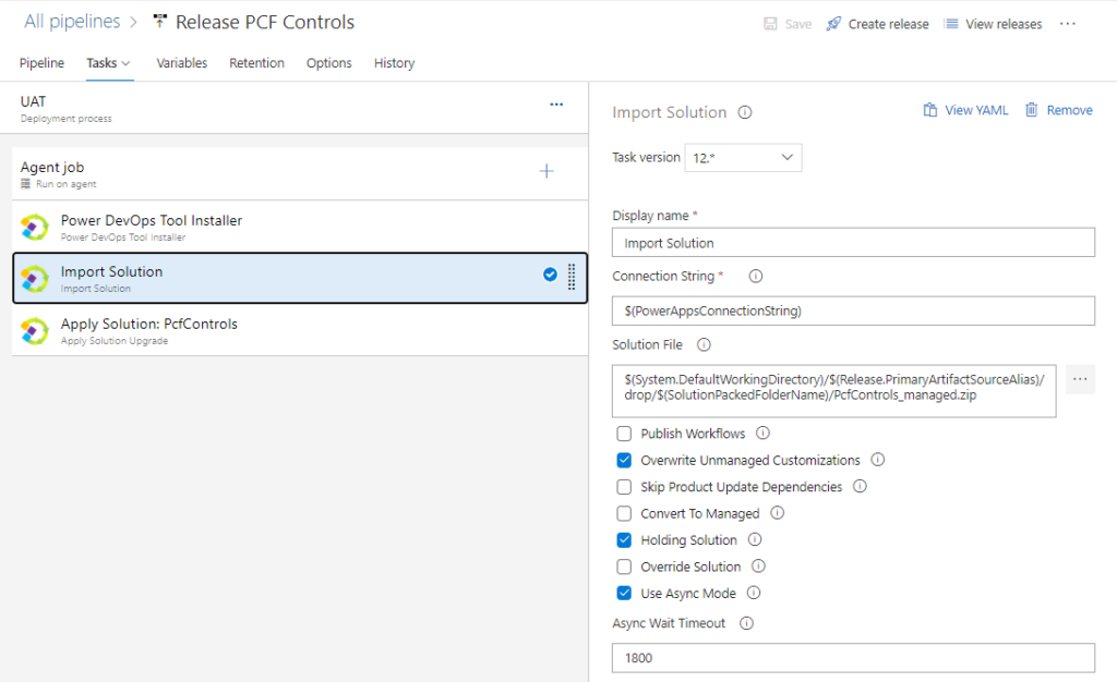 Using Azure DevOps to Build and Deploy Multiple PCF Controls